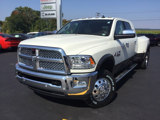 Dodge Ram 3500 Heavy Duty Dually >> New 2018 RAM 3500 Laramie Mega Cab in Penn Yan #28021 | Friendly CDJR